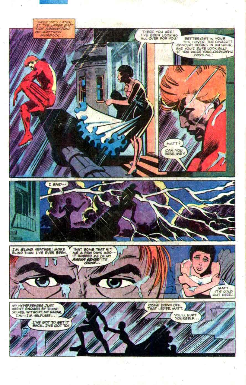Daredevil v1 #176 marvel comic book page art by Frank Miller