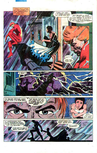 Daredevil v1 #176 marvel comic book page art by Frank Miller