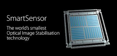 Teknologi SmartSensor Image Stabilization