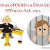 """लैँगिक अपराधों से बालकों का संरक्षण अधिनयम, 2012 """"पोक्सो एक्ट,2012 """"।  Protection of Children From Sexual Offence Act, 2012."""