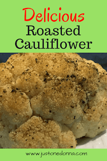 Delicious Oven Roasted Cauliflower with Garlic and Herbs
