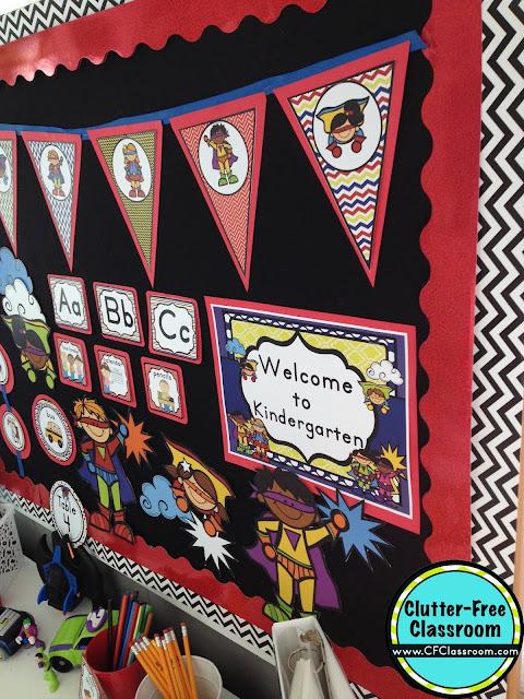 Classroom Decoration Superhero ~ Superheroes themed classroom ideas printable