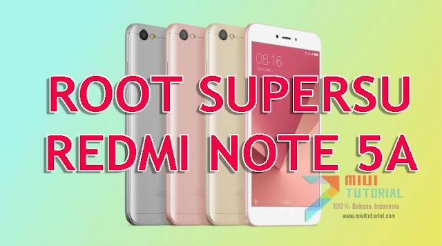 Tak Perlu Waktu Lama untuk Root SuperSU Xiaomi Redmi Note 5A Ini Tutorial Caranya