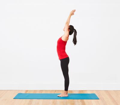 Mindful breath Yoga 3rd pose