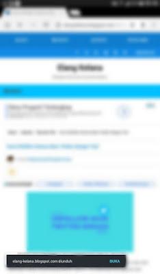 Tutorial Menyimpan Halaman di Google Chrome Android 4