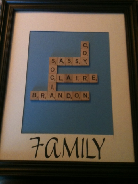 Creativity Is Contagious Pass It On Family Scrabble