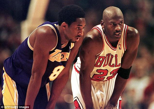Kobe Bryant na Michael Jordan