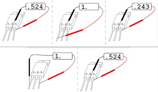 как быстро проверить полевой транзистор мультиметром