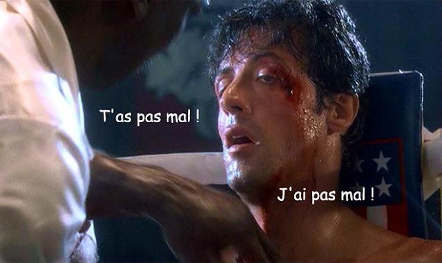 Rocky 3 - T'as pas mal - J'ai pas mal