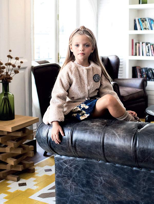 Moda invierno 2018 ropa para niñas. Moda 2018.