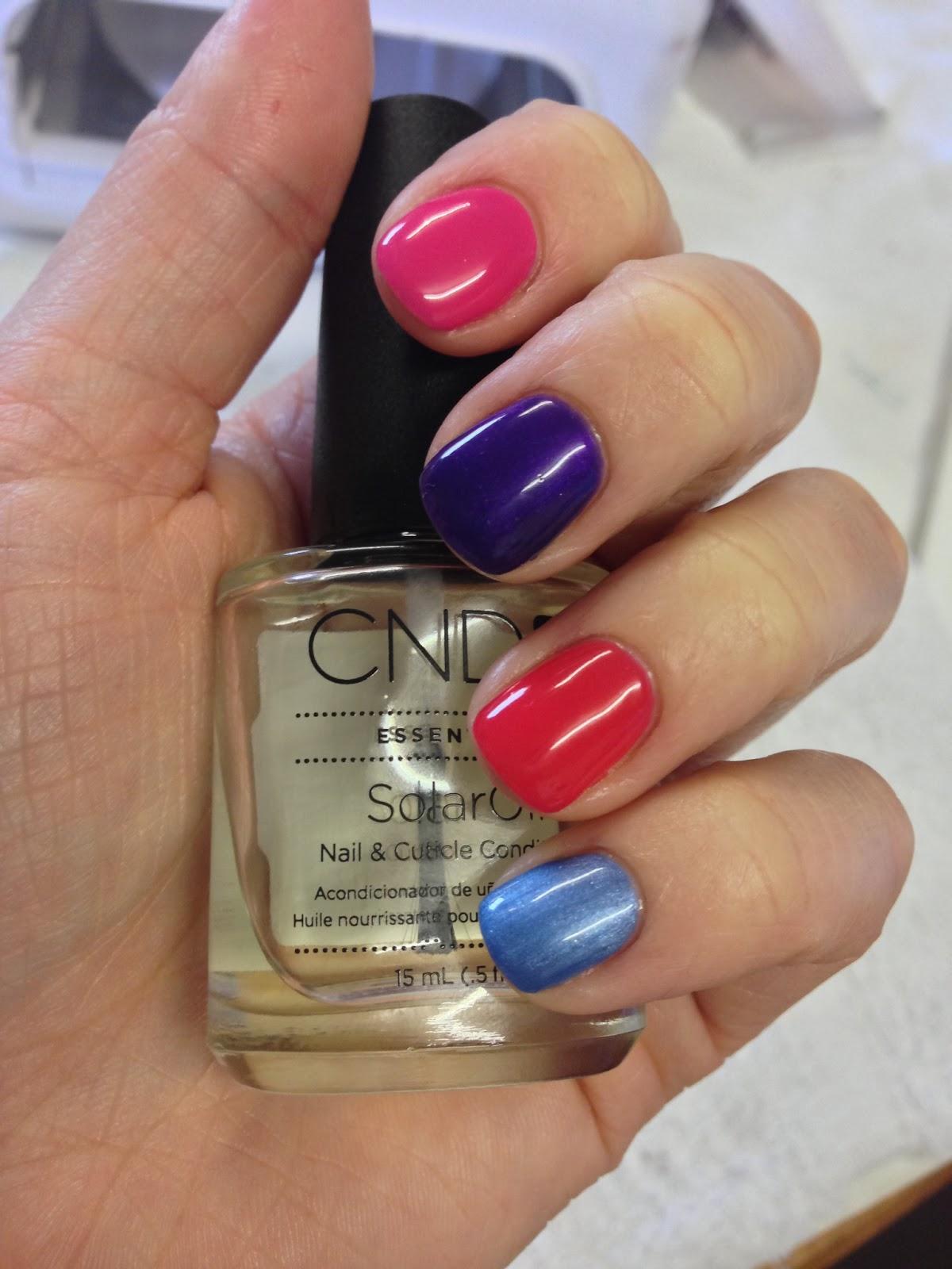 Brush Up And Polish Up!: CND Shellac Summer 2013