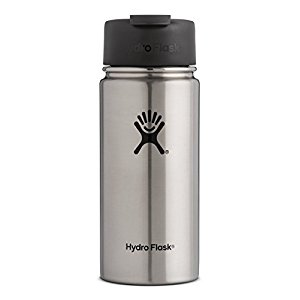 Hydro Flask Vacuum Insulated Stainless Steel Water Bottle, Wide Mouth w/Hydro Flip Cap