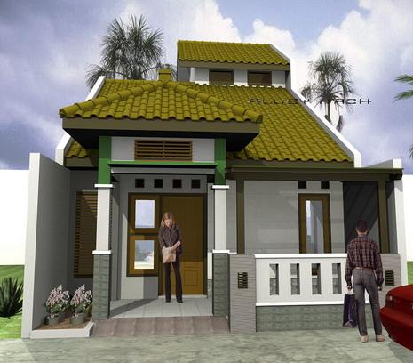 koleksi gambar rumah cantik modern:desain rumah cantik