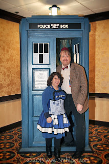 The Doctor and his wife, Gallifrey One, February 2013  ww.3rsblog.com