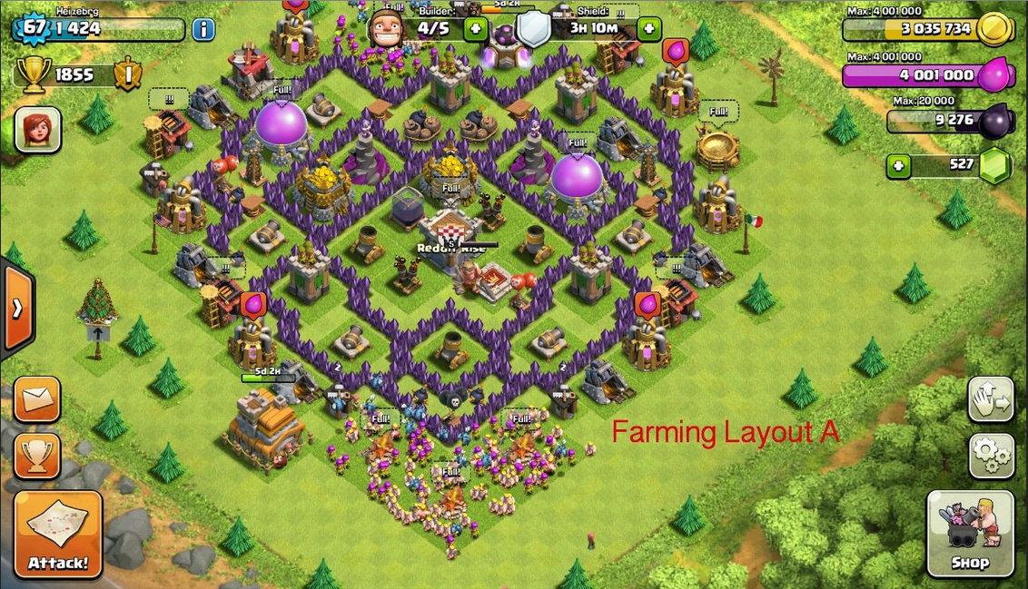 Base Coc Th 7 Paling Sulit Ditembus 3