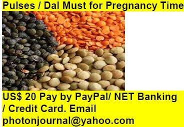 Pulses / Dal Must for Pregnancy Time pregnancy book