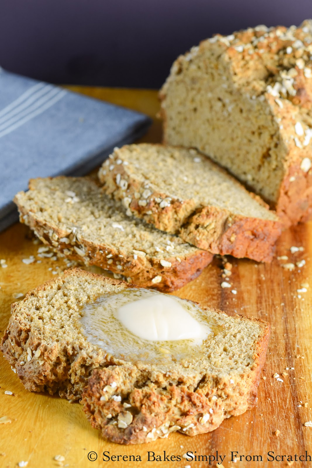 Irish Brown Bread is a must make for St. Patricks Day.
