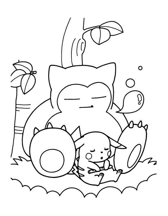 Tranh tô màu Pokemon 17