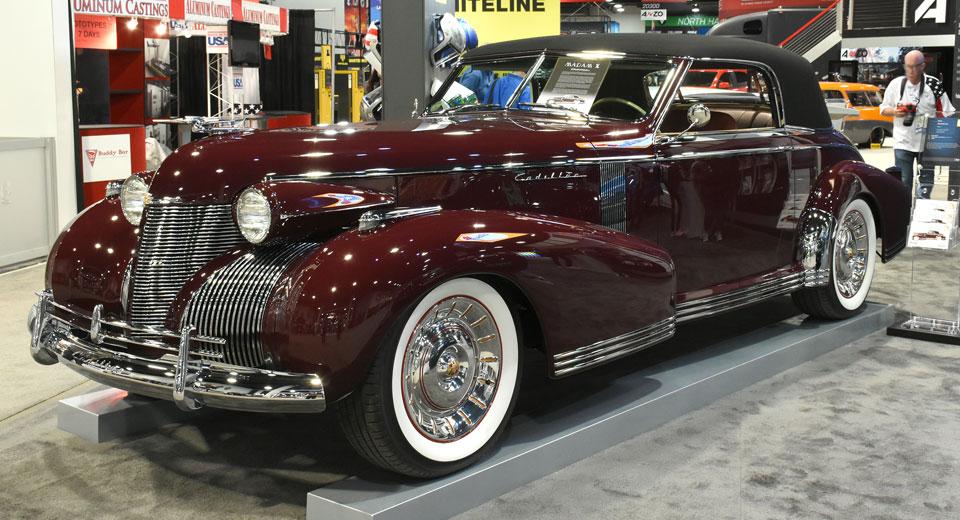 Chip Foose's Bold 'Madam X' Cadillac Brings 1935 Style To SEMA