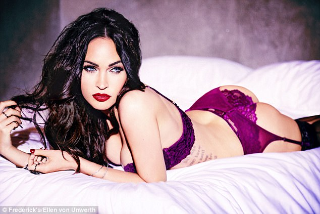Megan Fox Flaunts Sexy Curves In New Lingerie Shoot