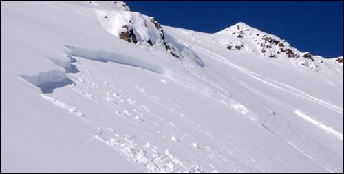 Avalanche de plaque
