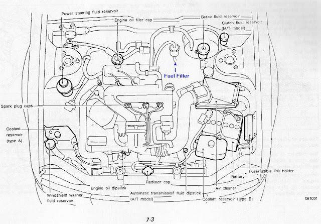 Diagram 1997 Nissan Maxima Spark Plug. Nissan. Auto Parts