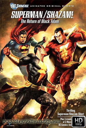 Superman Y Shazam: El regreso De Black Adam [1080p] [Castellano-Ingles] [MEGA]