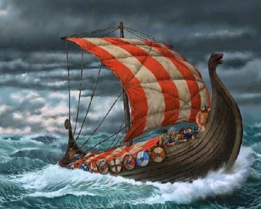 Vennskap News: The Nordmen Are Coming! The Nordmen Are Coming!Viking Ship Storm
