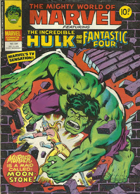 Mighty World of Marvel #324, Hulk vs Moonstone