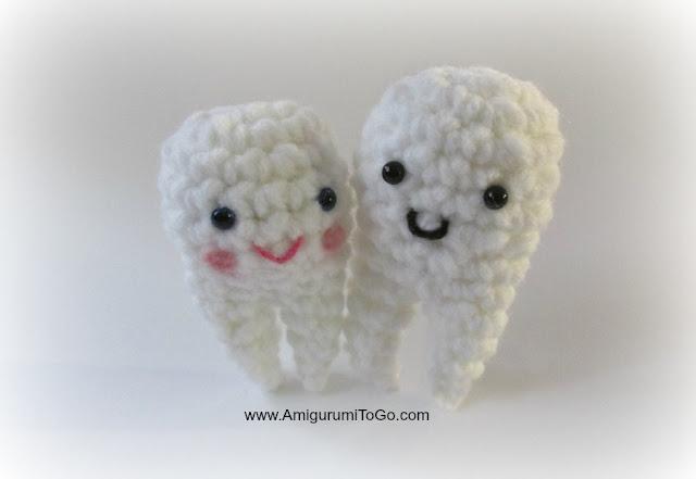 free amigurumi tooth pattern - Google Search   Crochet patterns ...   441x640