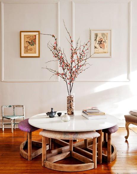 Noir blanc un style for Decoracion del hogar vintage