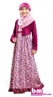 Baju lebaran muslim anak perempuan
