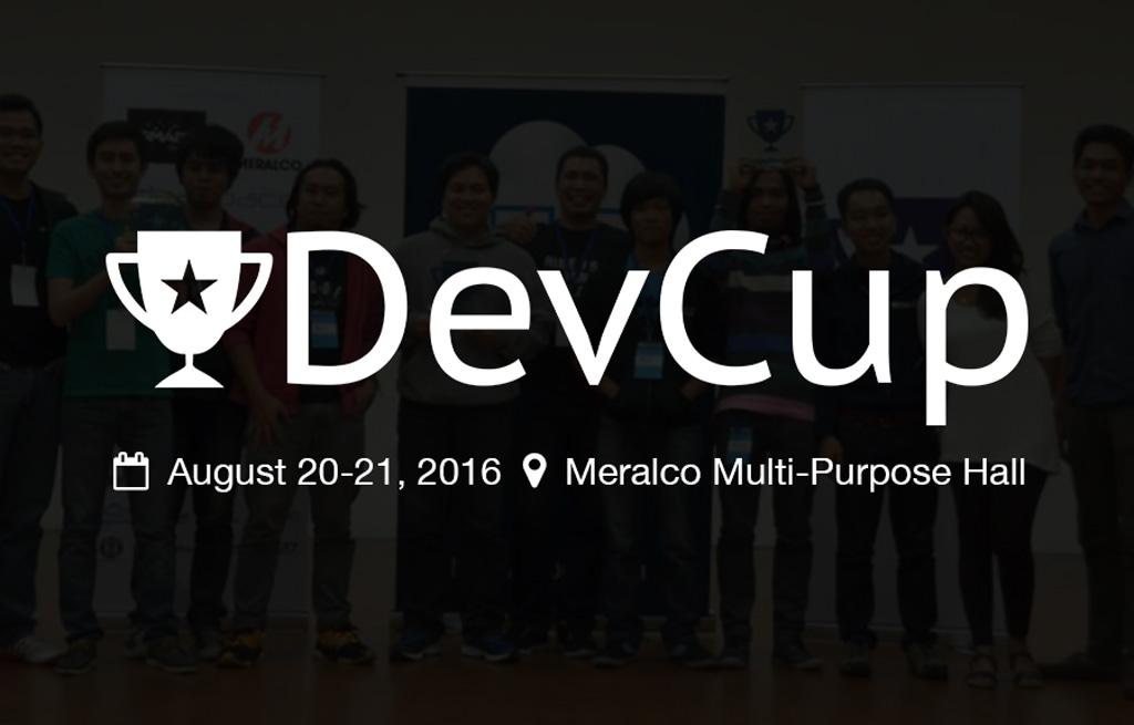 WebGeek DevCup 2016 Hackathon