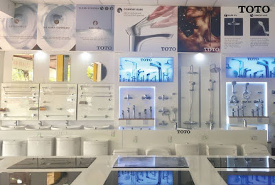 Coi giá thành thiết bị nhà tắm Toto 100% chính hãng tại đại lý công ty HITA