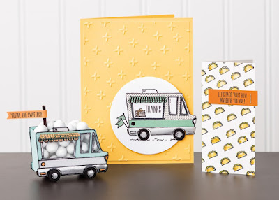 Sale-a-Bration 2017 Inspiration: 6 Tasty Trucks Projects ~ Stampin' Up! ~ www.juliedavison.com
