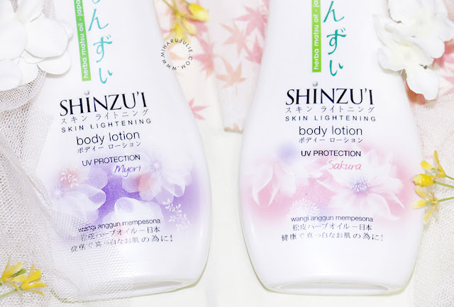 REVIEW SHINZU'I body lotion
