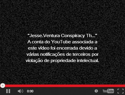Prova: Youtube censura videos de verdade