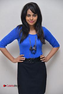 Actress Nandita Swetha Stills in Black Mini Skirt at Ekkadiki Potavu Chinnavada Movie Special Show  0053.JPG