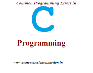 common programming erors in c