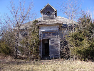 Upper Timber Creek School House Cowley Country Kansas