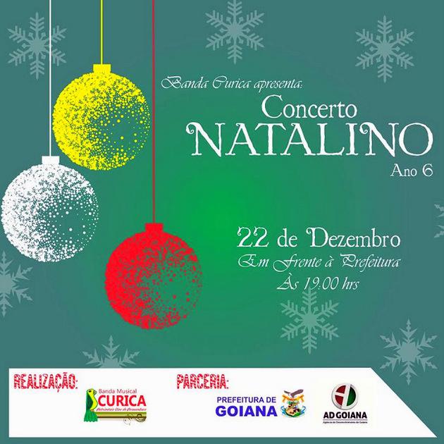 Evento: Banda Musical Curica promove VI Conserto Natalino em Goiana