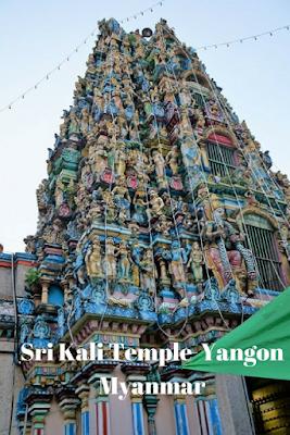Sri Kali Temple  Yangon Myanmar