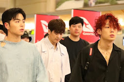 iKON Spotted at LAX Airport  After HiTC in LA 190817