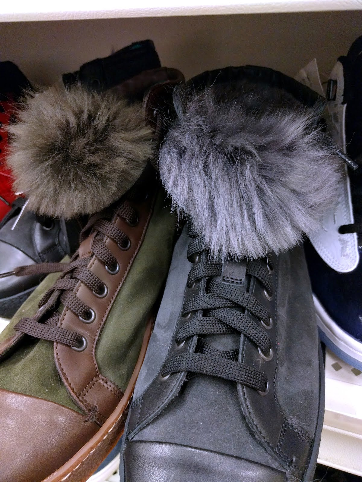 a1ff58e3f62 smoothly polished: Shearling Footwear?