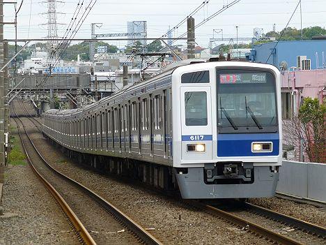 東急東横線 特急 川越市行き 9000系