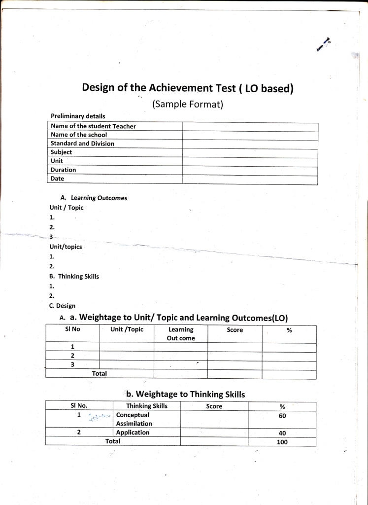Education network design of achievement test based on learning the achievement test design mentioned here is based on rbt malvernweather Choice Image