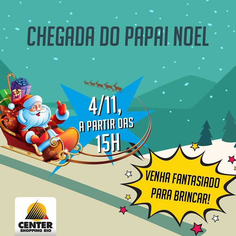 Center Shopping Rio celebra Natal com evento da 'Turma da Mônica'