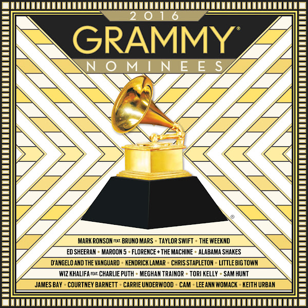 Various Artists - 2016 GRAMMY Nominees Cover
