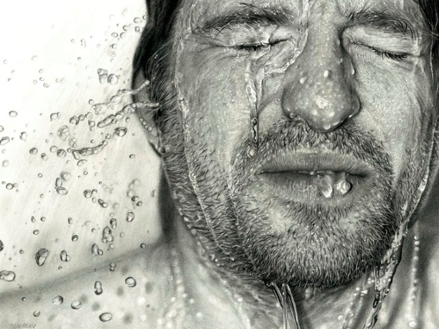 Реалистичные рисунки карандашом. Dirk Dzimirsky 5