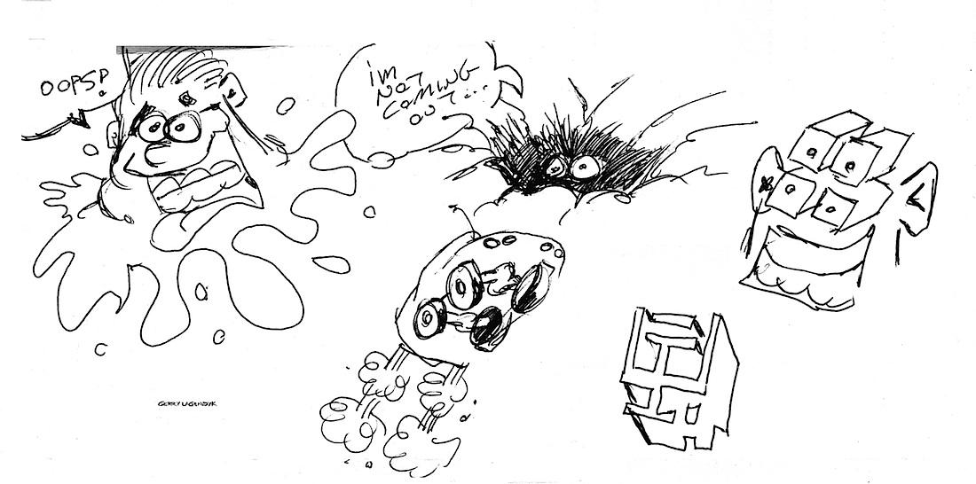 Gerry Lagendyk sketchbook